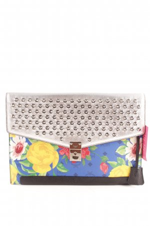 MCM Clutch flower pattern casual look