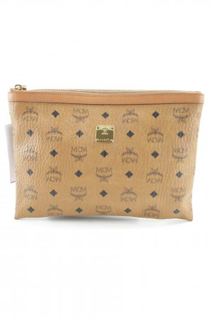 "MCM Pochette ""Heritage Top Zip Medium Pouch iPad Cognac"" cognac"
