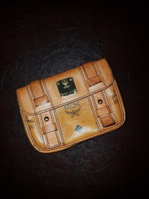 MCM Mini Bag black-cognac-coloured