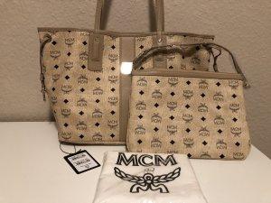 Mcm Clutch/ Pochette Beige NEU