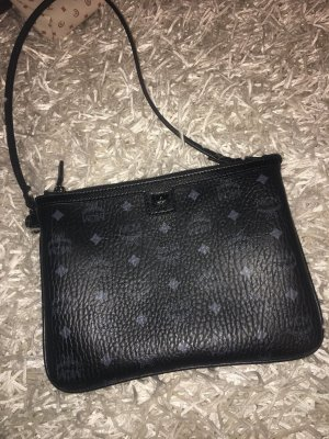 MCM Clutch black-grey