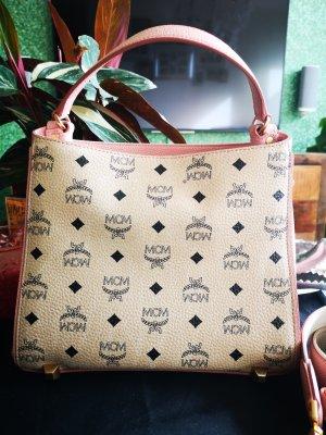 MCM Handbag rose-gold-coloured-cream