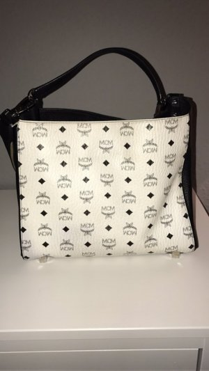 MCM Corina Visetos Shoulder Bag