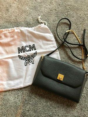 MCM Borsa a spalla multicolore Pelle
