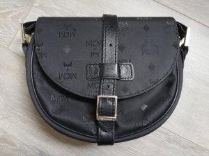 MCM Crossbody/Umhängetasche in schwarzem Monogram - Vintage und Original -