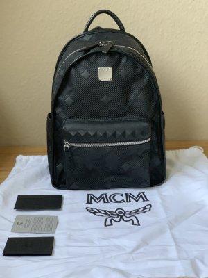 MCM Zaino laptop nero Nylon