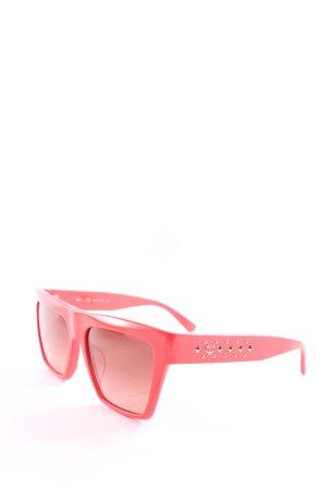 "MCM eckige Sonnenbrille ""MCM601SA 631"" hellrot"