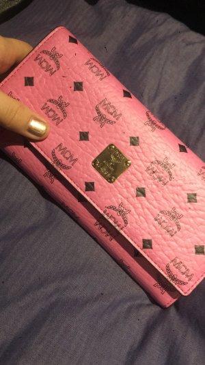MCM Geldbeutel in rosa