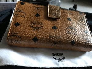 MCM Wallet cognac-coloured leather