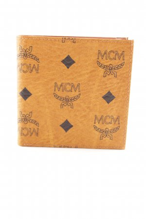 MCM Wallet cognac-coloured elegant