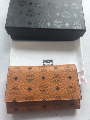 MCM Geldbörse, Cognac Medium