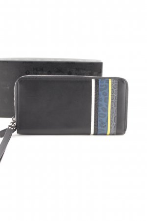 "MCM Portefeuille ""Color Visetos 3 Fold Wallet Medium Black """