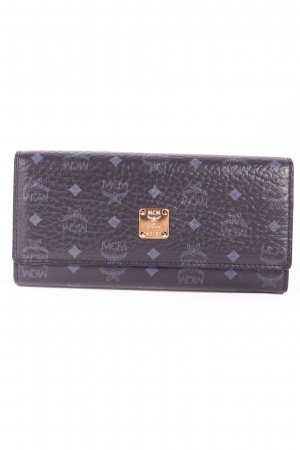 "MCM Geldbörse ""Color Visetos 3Fold Large Wallet Black"""