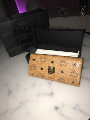 MCM Portefeuille cognac