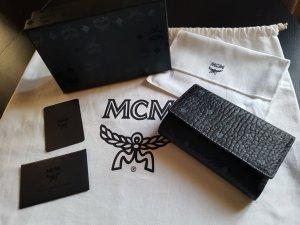 MCM Cartera negro-azul aciano