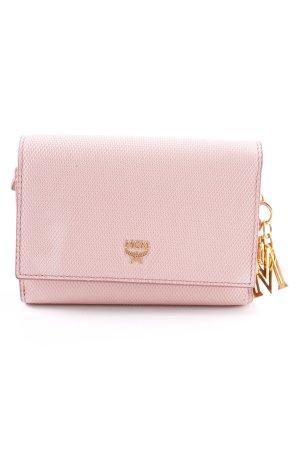 "MCM Geldbörse ""Otti Charm Flap Wallet Tri-Fold Small Pink"" rosé"