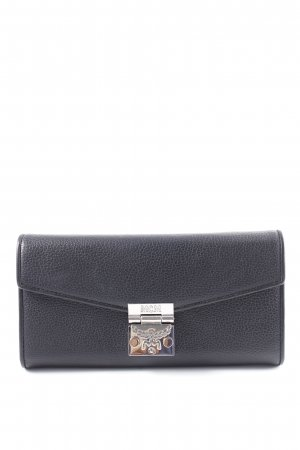 "MCM Portefeuille ""Patricia Park Avenue Flap Wallet Two-Fold Large Black"""