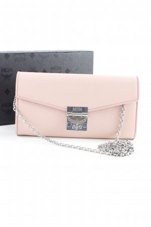 "MCM Portefeuille ""Patricia Park Avenue Flap Wallet Two-Fold Large Pink Blush"""