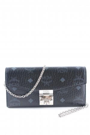 "MCM Wallet ""Patricia Visetos 2 Fold Wallet Black"""