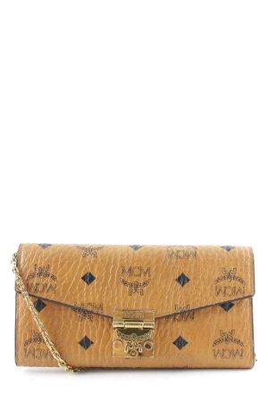 "MCM Portafogli ""Patricia Visetos 2 Fold Wallet Large Cognac"""