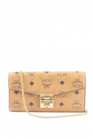 """MCM Portefeuille """"Patricia Visetos 2 Fold Wallet Large Cognac"""""""