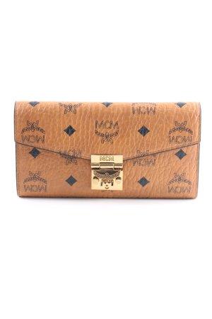 "MCM Geldbörse ""Patricia Visetos 2 Fold Wallet Large Cognac"" hellbraun"
