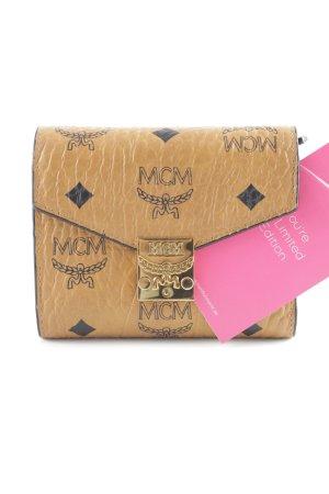 "MCM Portefeuille ""Patricia Visetos 3 Fold Small Wallet Cognac"""