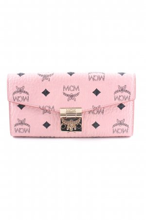 "MCM Geldbörse ""Patricia Visetos Two Fold Chain Wallet Large Soft Pink"""