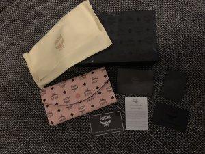 MCM Portefeuille rose-noir