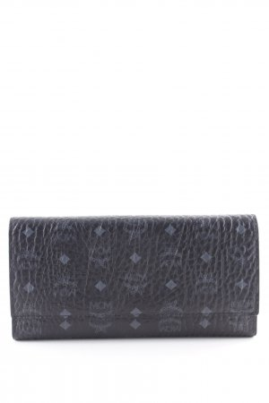 "MCM Portefeuille ""Visetos Original Flap Wallet Large Black"" noir"