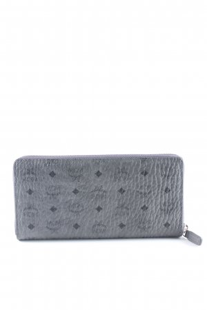 "MCM Wallet ""Visetos Original Zipped Wallet Large Phantom Grey"""