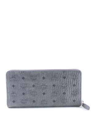 """MCM Portafogli """"Visetos Original Zipped Wallet Large Phantom Grey"""""""