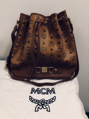 MCM Pouch Bag multicolored leather