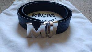 MCM Gürtel in schwarz/silber