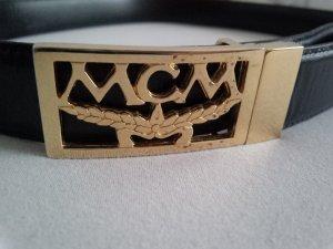 MCM Gürtel zweifarbig mit Drehschließe