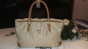 MCM Handbag cream-brown