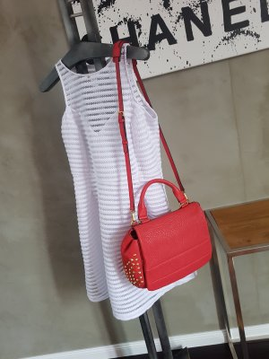 MCM Handtasche 100% Original Leder Rot