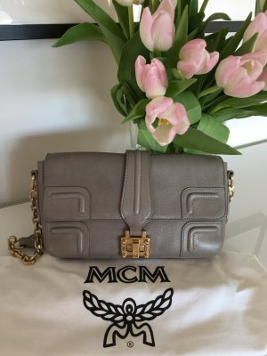 MCM Bag grey leather
