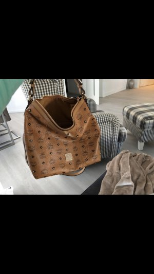 MCM Sac à main brun-rose chair