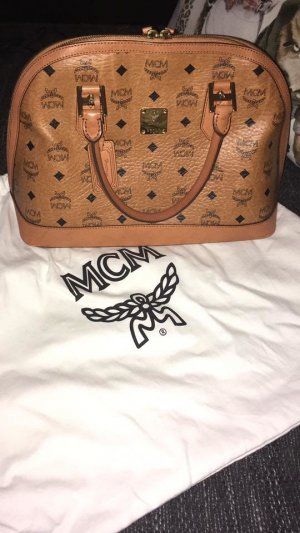 MCM Sac Baril multicolore faux cuir