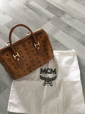 MCM Handbag camel-black