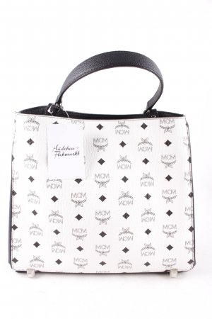 "MCM Handtasche ""Corina Visetos Shoulder Bag Medium White"""