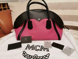 MCM Handbag black-pink