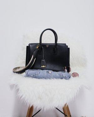 MCM Borsetta grigio scuro stile da moda di strada