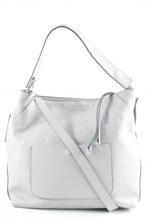 MCM Borsetta grigio chiaro modello misto stile da moda di strada