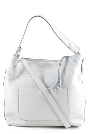 MCM Handtasche hellgrau Mustermix Street-Fashion-Look