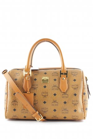"MCM Handbag ""Heritage Boston Medium Cognac"""