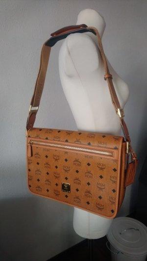 MCM Handtasche Heritage Messenger Vintage Cognac