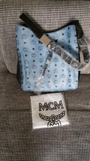 MCM Handtasche hobo vosic Blue Black