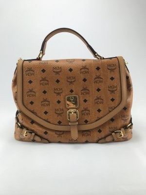 MCM Handbag cognac-coloured